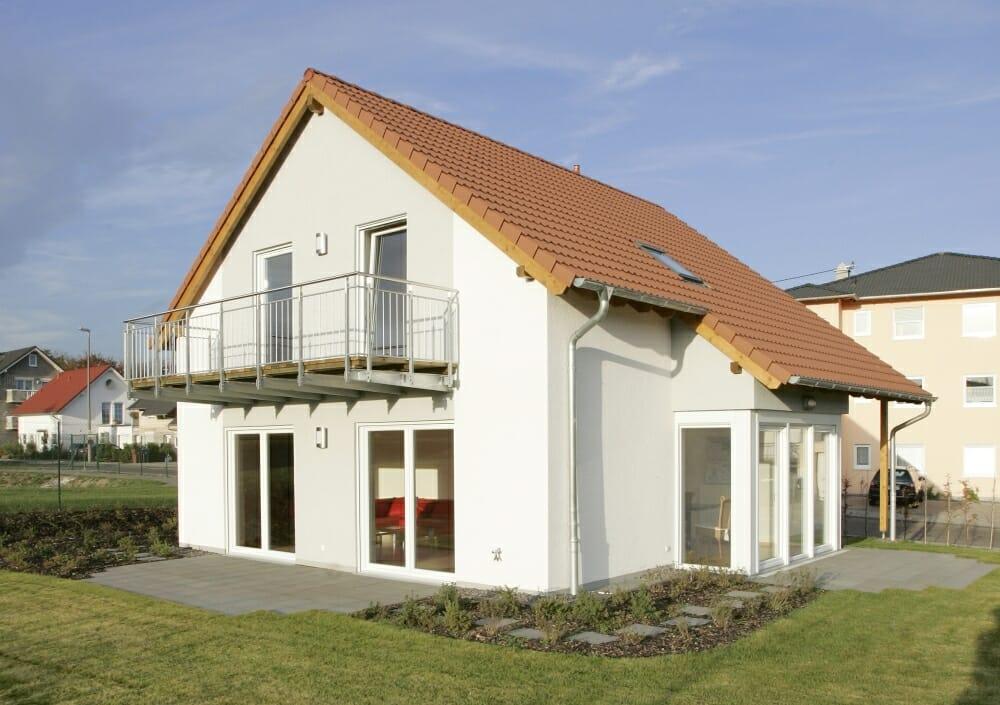 Einfamilienhaus in Weißenthurm gebaut von der cobau aus Koblenz.