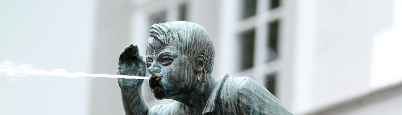 Der Schängel in Koblenz, der Heimat der cobau.