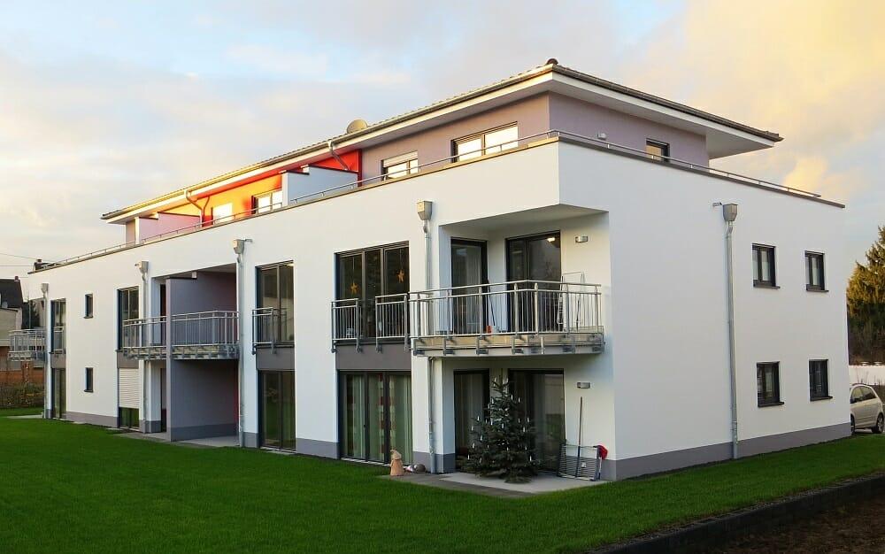 Seniorengerechtes Wohnen im Apfelweg in Mühlheim-Kärlich gebaut von der cobau.