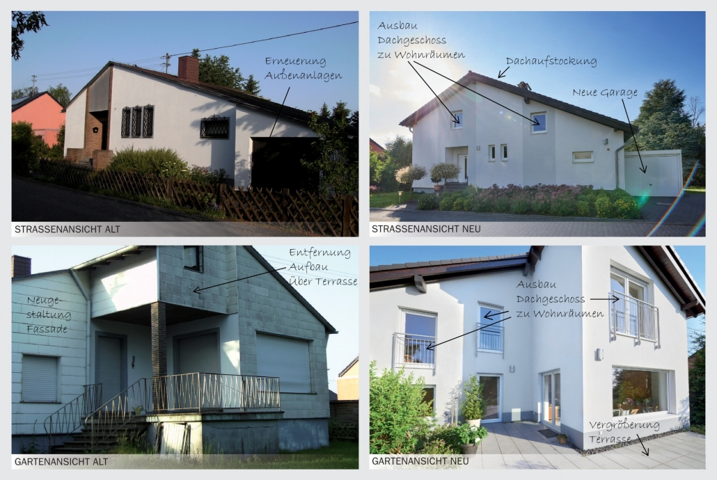 Sanierung ist auch eine Leistung der cobau aus Koblenz.