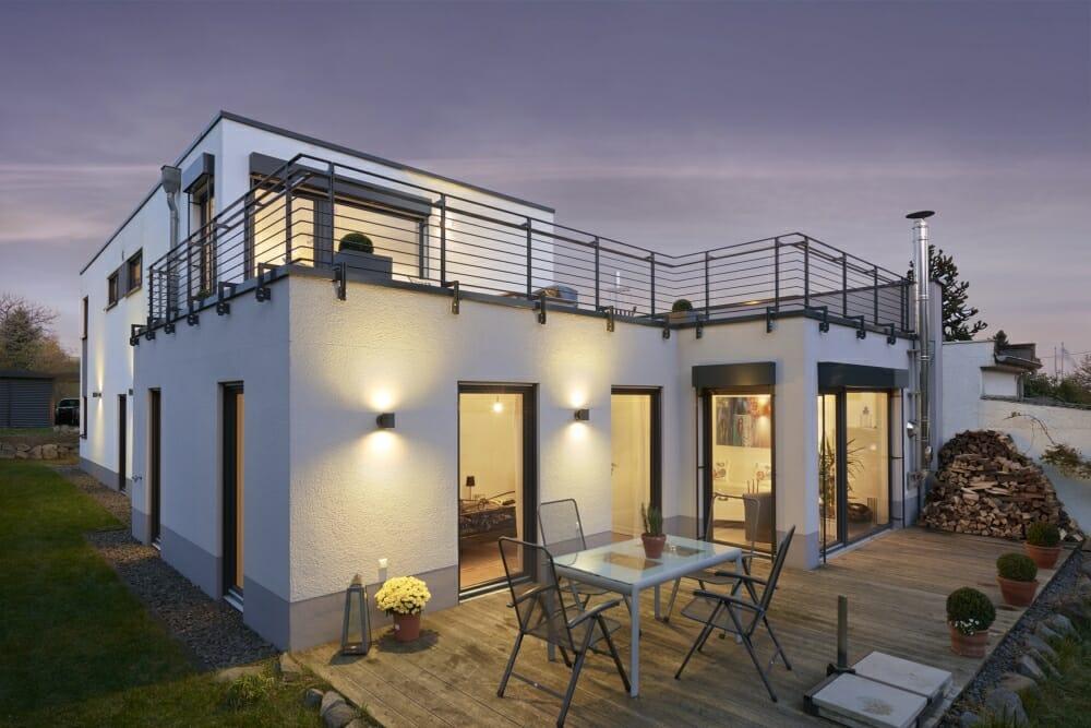 Zweifamilienhaus in Andernach, gebaut von der cobau in Koblenz