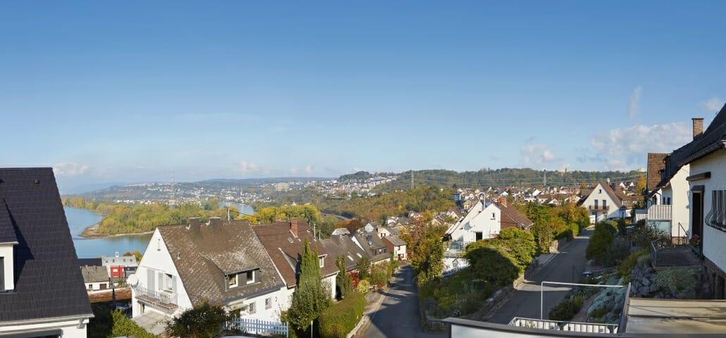 Wohnung in Urbar bei Koblenz mit Aussicht
